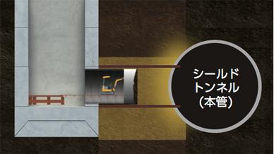 図:④連絡管施工